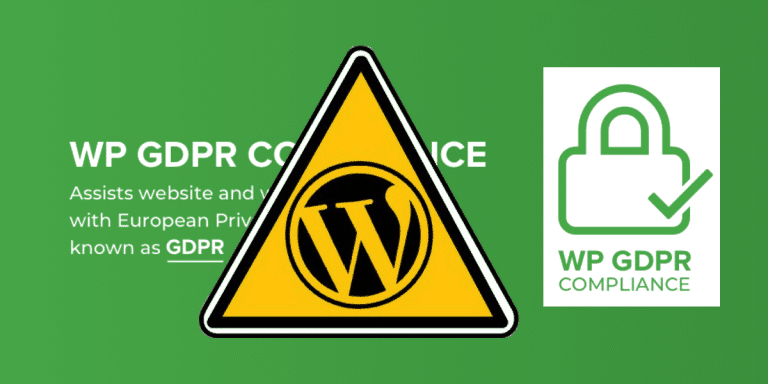 WP GDPR Compliance hack